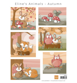 Marianne D Knipvel AK0080 - Eline's Animals Autumn