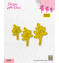 Nellie`s Choice - SD225 - Set of 3 Branches-4
