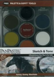 Pan Pastel set 7 Sketch en Tone
