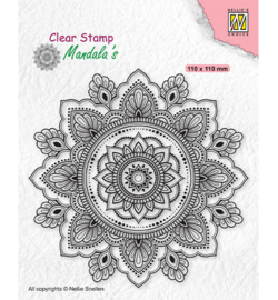 Nellie`s Choice - CSMAN002 - Mandala Sunflower