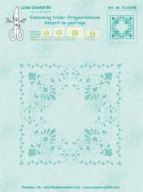 LeCrea - Curlicue Embossing folder 35.0690