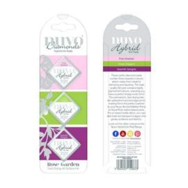Nuvo Diamond hybrid ink pads - rose garden 83N