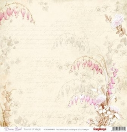 ScrapBerry's Double-Sided Paper 12x12 Inch 180 gsm, Dream Land (SCB220604805)