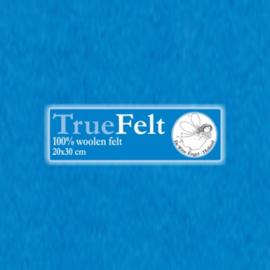 De Witte Engel - Vilt 1,2 mm - Turquoise 551 (incl. bijpassend garen)