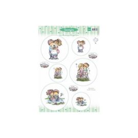 Card Topper Snoesjes - 3DHM0060