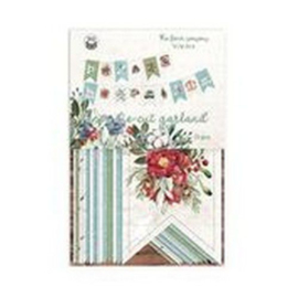 Piatek13 - Paper die cut garland The Four Seasons - Winter P13-WIN-32