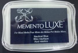 Memento inktkussen De Luxe Nautical Blue ML-000-607