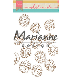 Marianne D Mask Stencil PS8010 - Tiny's pine cone
