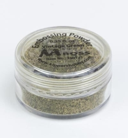 Embossing powder - Vintage Green