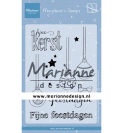 Marianne D Stempel MZ1906 - Morjoleine's Kerstballen