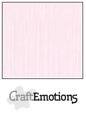 CraftEmotions linnenkarton - babyroze LHC-18 A4 250gr