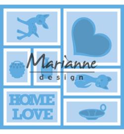 Marianne D Creatables LR0568 - Layout