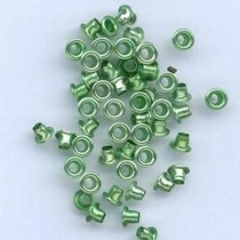 Eyelet rond 5mm - groen