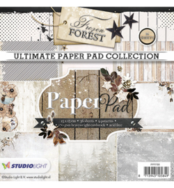 Studio Light PPFF88 - Paper Pad Blok, Frozen Forest nr.88