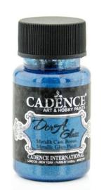 Cadence Dora Glas & Porselein verf Metallic Dora blauw 01 013 3134 0050 50 ml