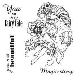 ScrapBerry's Set Of Clear Stamps 10,5x10,5 cm Fairy Tale You Are My Fairy Tale (SCB4904011b)