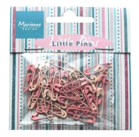 Marianne D Decoration Mini pins - light pink & pink JU0942