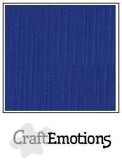 CraftEmotions linnenkarton hemelsblauw  27x13,5cm 250gr