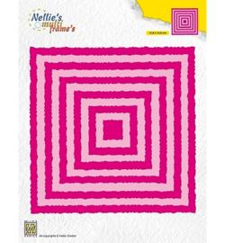 Nellie`s Choice - MFD124 - Photo Frames Squares