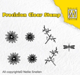Precission Stamps-Nature margueri APST014