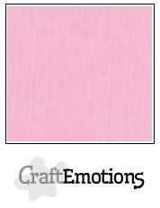 CraftEmotions linnenkarton - roze LHC-38 A4 250gr