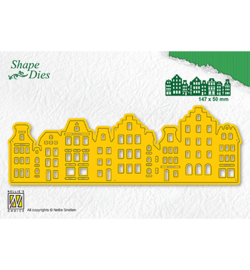 Nellie`s Choice - SD183 - Shape Dies -Vintage houses-