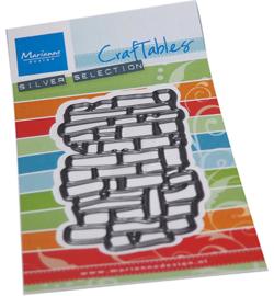 Marianne D Craftable - CR1558 - Art texture bricks