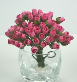 Tiny Rose Buds - Pink