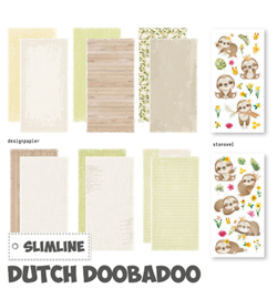 Dutch Doobadoo - 473.005.006 - Slimline paper Kit Luiaard