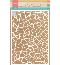 Marianne D Mask Stencils PS8036 - Broken tiles