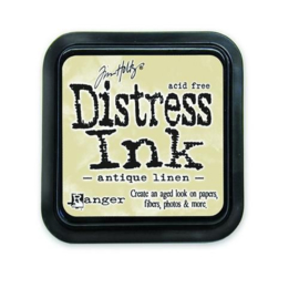 Ranger Distress Inks pad - antique linen stamp pad TIM19497 Tim Holtz