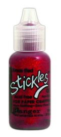 Ranger Stickles Glitter Glue 15ml - christmas red SGG01898