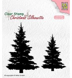 Nellie`s Choice CSIL009 - Fir trees