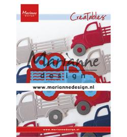 Marianne D Creatables LR0641 - Truck