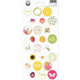 Piatek13 - Sticker sheet The Four Seasons - Summer 03 P13-SUM-13 10,5 x 23cm