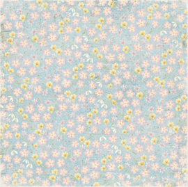 Maja Design - Vintage Spring Basics - 12 x 12 Double Sided Paper - 3rd of March