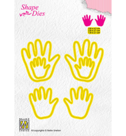 Nellie`s Choice SD165 - 3x Baby hands