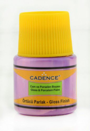Cadence Opague Glas & Porselein verf Lila 01 049 0030 0045 45 ml