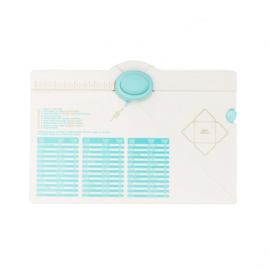 WE R Memory Keepers-Envelope Punch Board