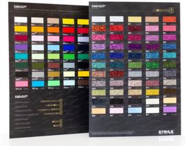 A4 Kleurkaart Stahls Flex (alle soorten bij elkaar)