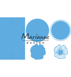 Marianne D Creatables LR0570 - Anja's vertical folding die (round)