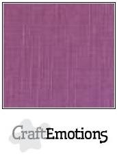 CraftEmotions linnenkarton purper 30,5x30,5cm
