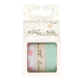 Capsule Collection - Vintage Notes - 3x1m Fabric Tape