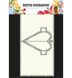 Dutch Doobadoo Card Art Heart Pop Up