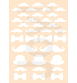 Joy! Crafts - 6002/0890 - Gentlemens Moustache