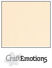 CraftEmotions linnenkarton zand 27x13,5cm 250gr
