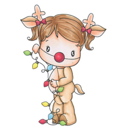 CCDesigns Swiss Pixie Reindeer Lucy