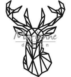 Marianne D Craftable CR1445 - Geometric deer