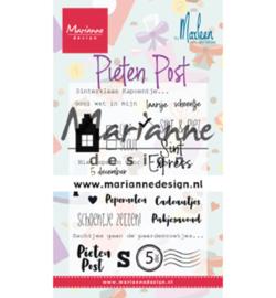Marianne D Stempel - CS1042 - Pietenpost by Marleen