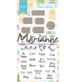 Marianne D CS1029 - Mini labels EN